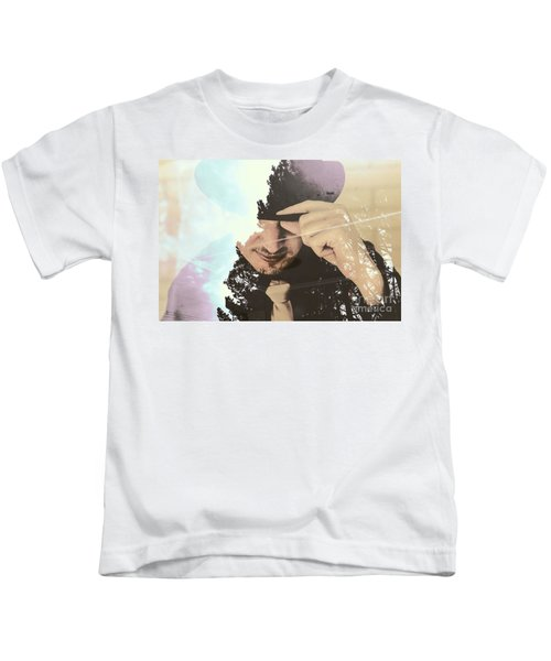 Finding Beauty Within Kids T-Shirt