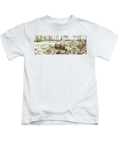 Fine Art Tasmania Bushland Kids T-Shirt