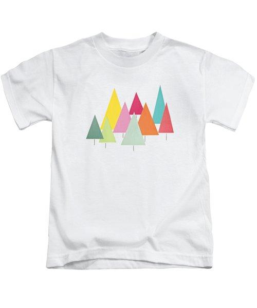 Fir Trees Kids T-Shirt