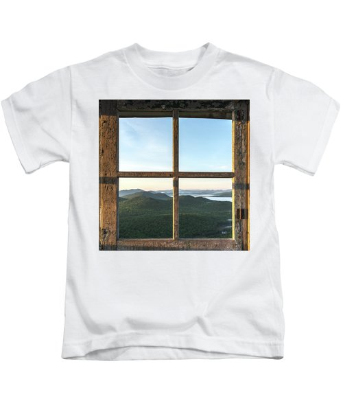 Fire Tower Frame Kids T-Shirt