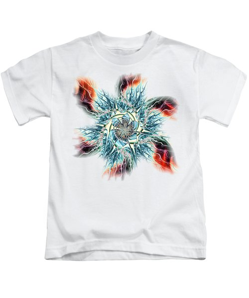 Fire Vs Ice Kids T-Shirt