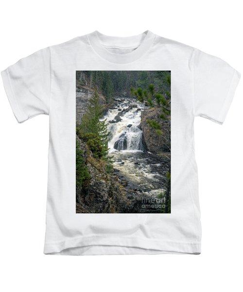 Firehole Falls Kids T-Shirt