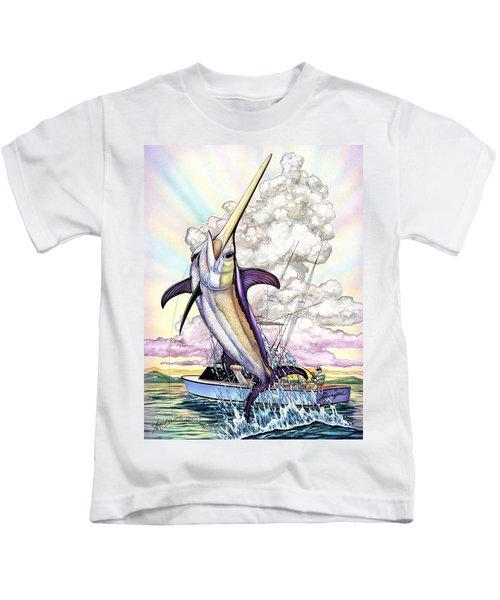 Fishing Swordfish Kids T-Shirt