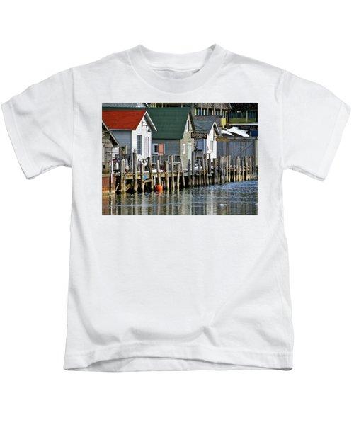 Fishtown In Leland Kids T-Shirt