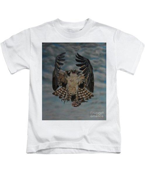 Fleck The Osprey  Kids T-Shirt