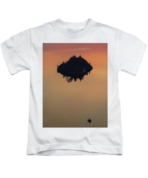 Floating Castle Kids T-Shirt
