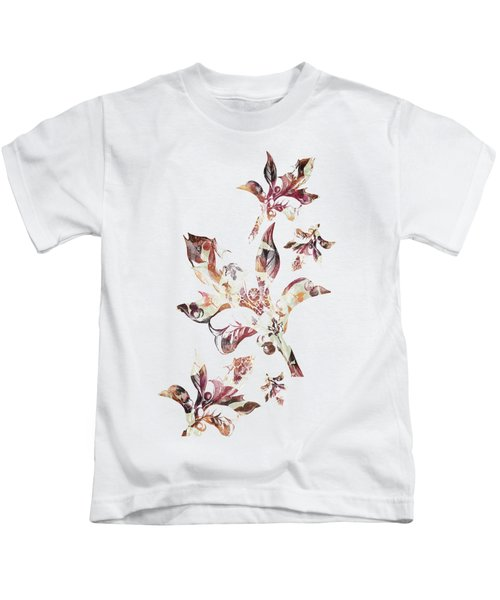 Floral Decor Kids T-Shirt