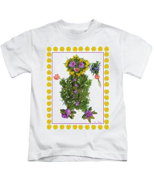Flower Baby Kids T-Shirt
