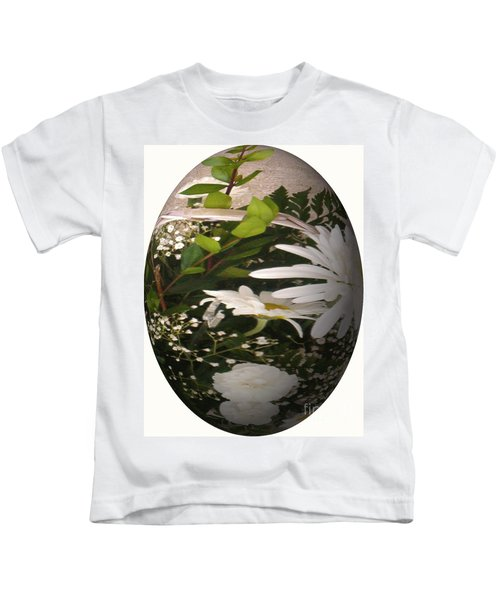 Flower Egg Kids T-Shirt