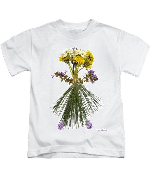 Flower Head Kids T-Shirt