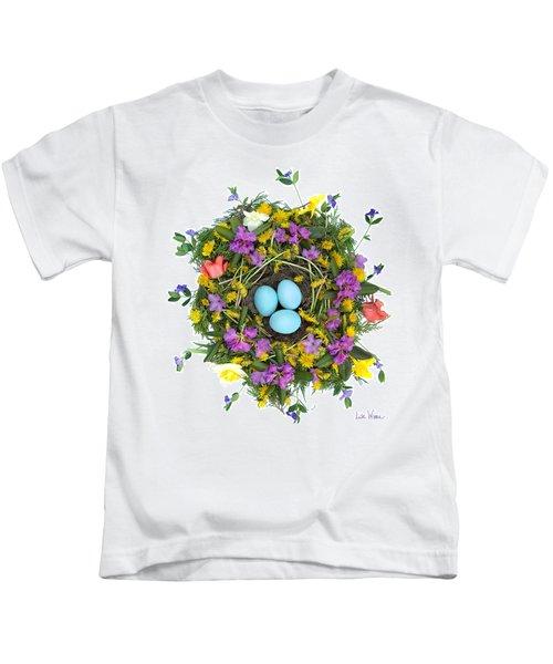 Flower Nest Kids T-Shirt