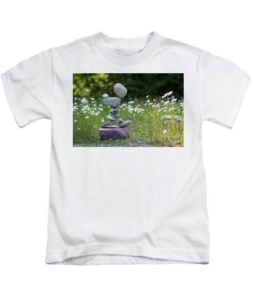 Flower Of Love. Kids T-Shirt