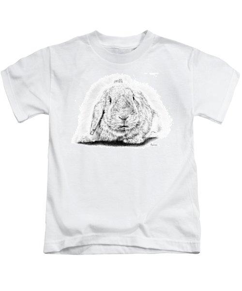 Fluffy Bunny Kids T-Shirt