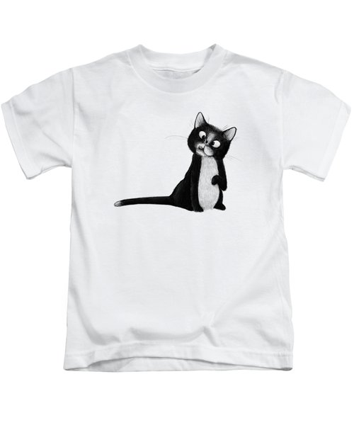 Fly On Cat Kids T-Shirt