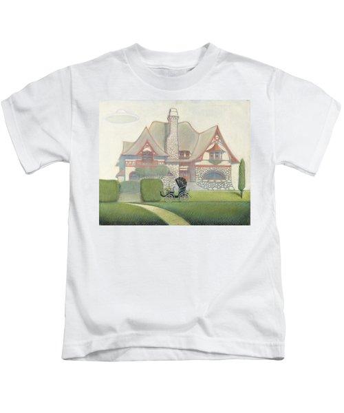 Flying Saucer Kids T-Shirt