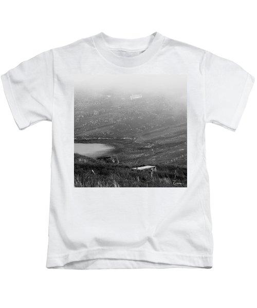 Foggy Scottish Morning Kids T-Shirt