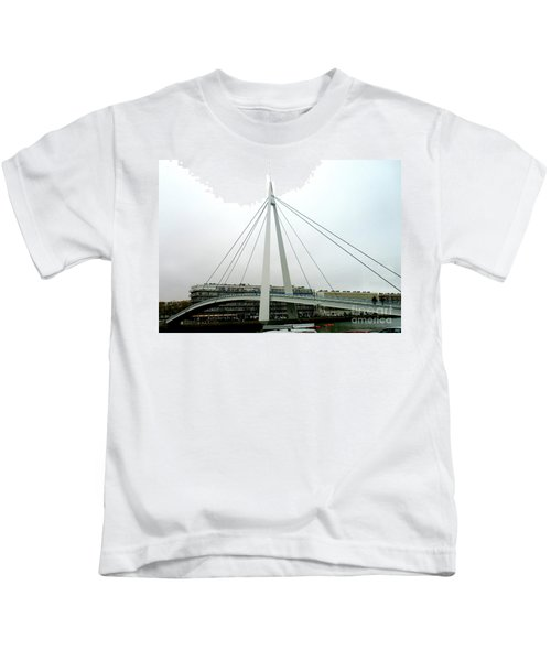 Footbridge Bassin Du Commerce 3 Kids T-Shirt