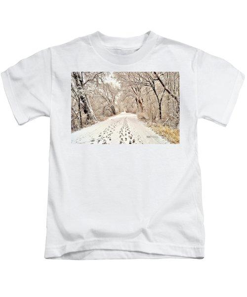 Footprints  Kids T-Shirt