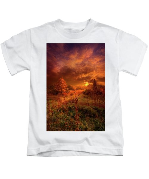 For A Time I Rest In The Grace Of The World And Am Free Kids T-Shirt