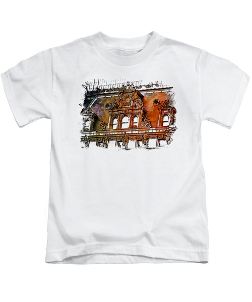 Forefathers Earthy Rainbow 3 Dimensional Kids T-Shirt