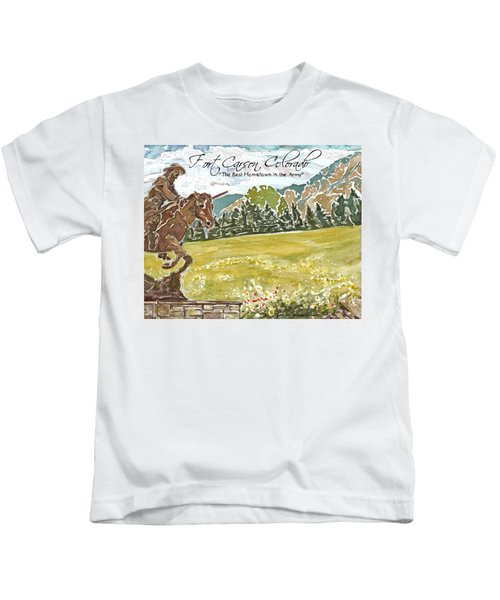 Best Hometown In The Army Kids T-Shirt