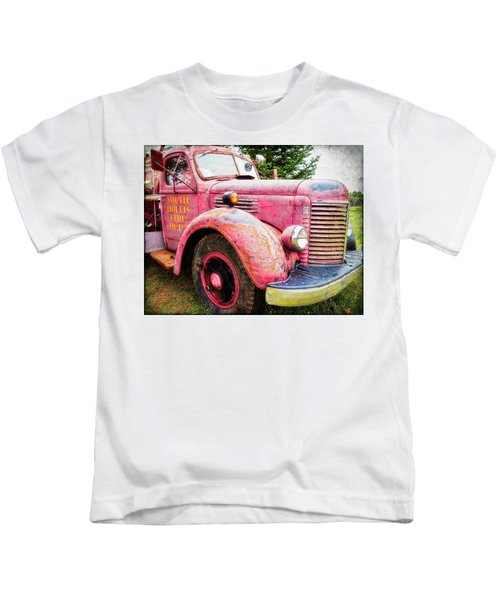 Four Alarm Blaze Kids T-Shirt