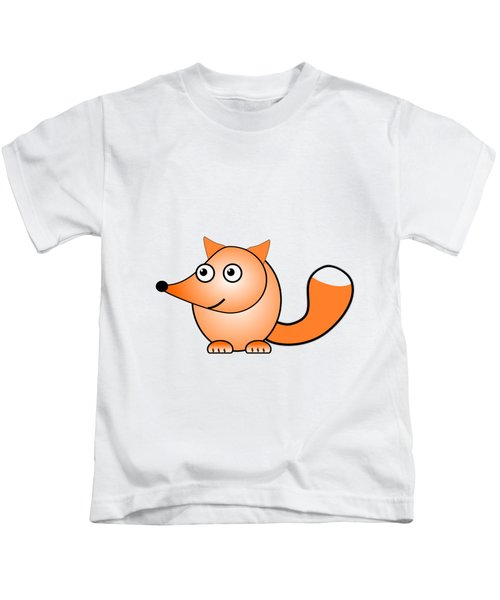 Fox - Animals - Art For Kids Kids T-Shirt