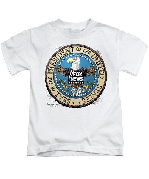 Fox News Presidential Seal Kids T-Shirt
