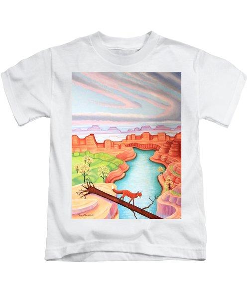 Fox Trotting Kids T-Shirt