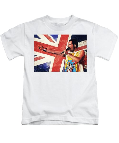 Freddie Mercury Kids T-Shirt