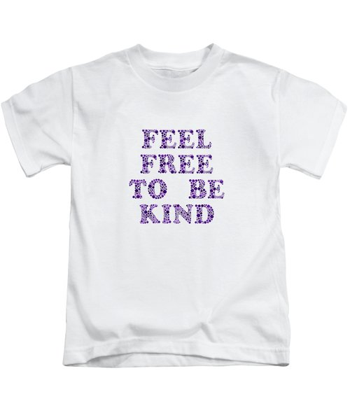 Free To Be Kind Kids T-Shirt