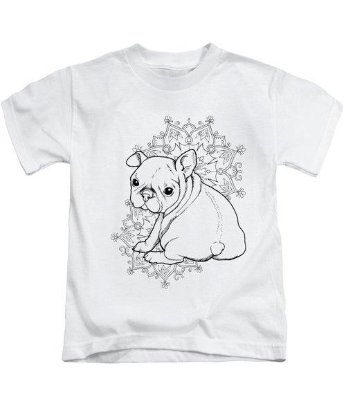 French Bulldog Puppy Kids T-Shirt