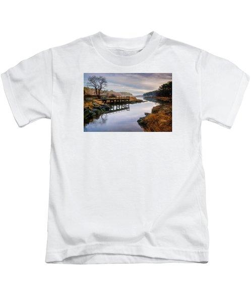 Frenchman's Pier Gloucester Kids T-Shirt