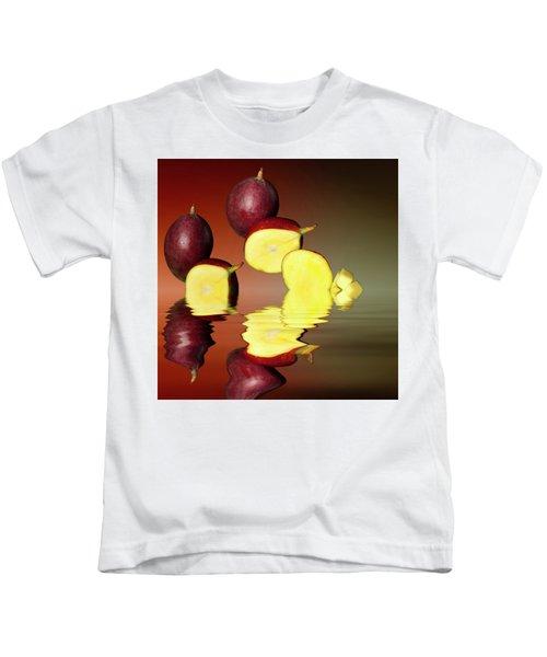 Fresh Ripe Mango Fruits Kids T-Shirt by David French