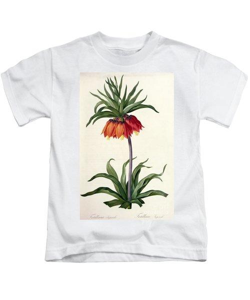 Fritillaria Imperialis Kids T-Shirt