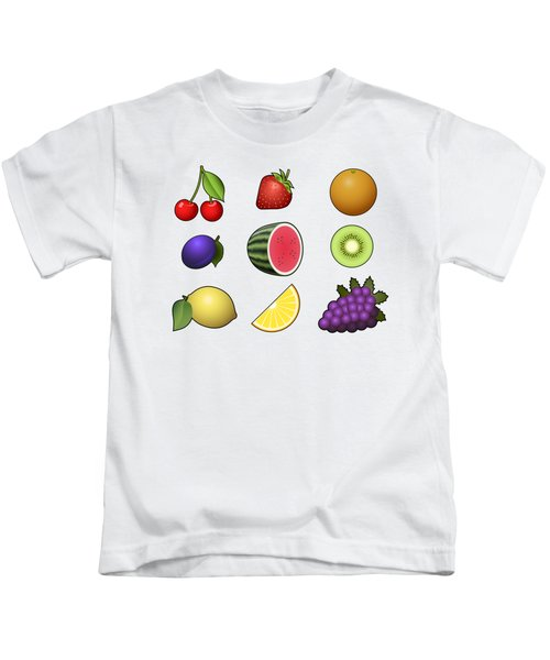 Fruits Collection Kids T-Shirt