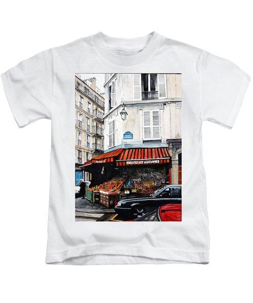 Fruits Et Legumes Kids T-Shirt