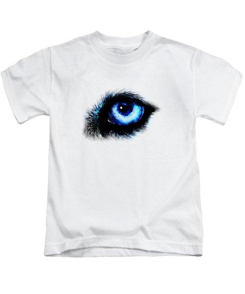 Full Moon Reflection Kids T-Shirt