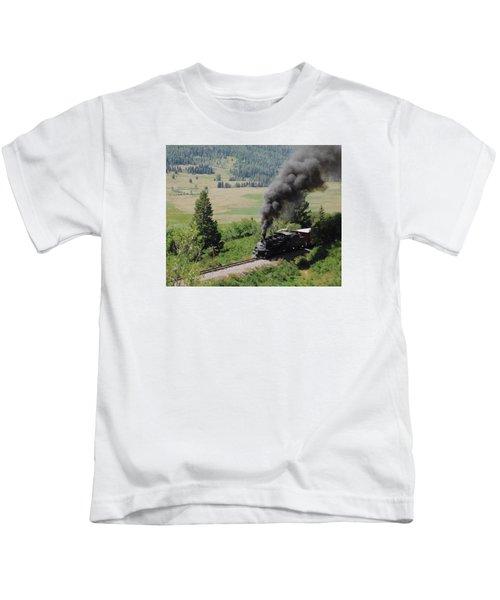Full Steam Ahead Kids T-Shirt