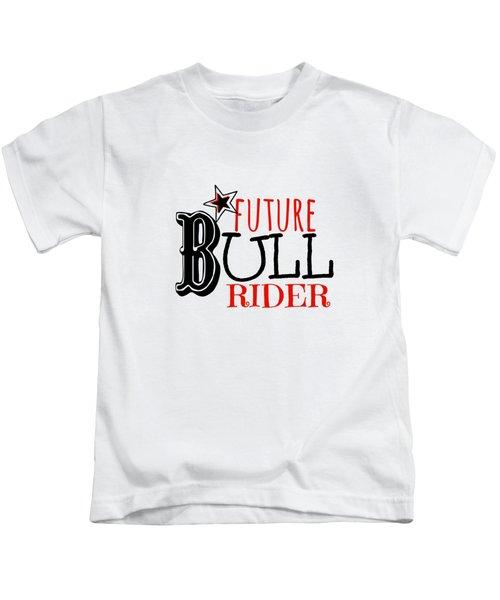 Future Bull Rider Kids T-Shirt