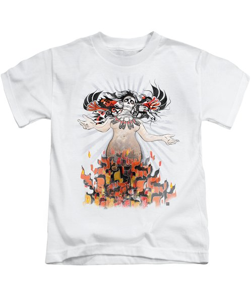 Gaia In Turmoil Kids T-Shirt