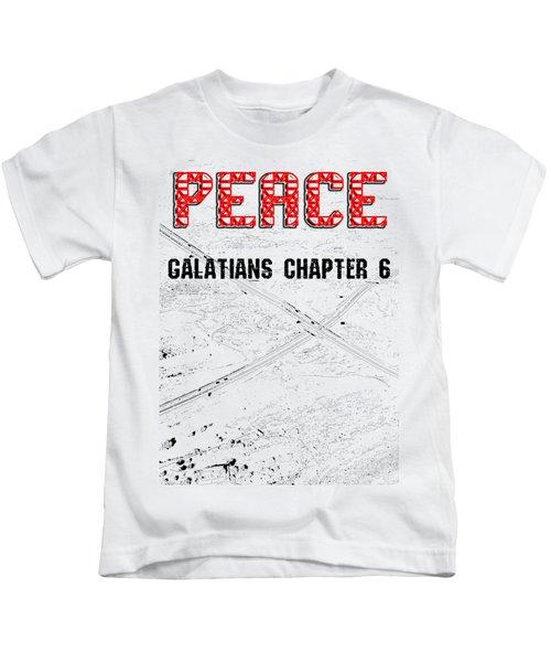 Galatians Chapter 6 Kids T-Shirt