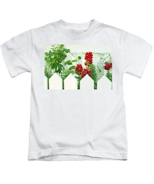 Garden Fence - Key West Kids T-Shirt