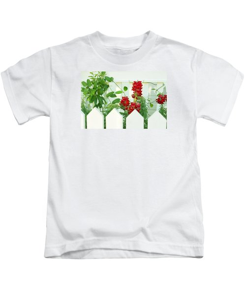 Garden Fence - Key West Kids T-Shirt