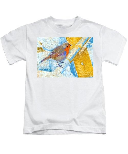Garden Robin Kids T-Shirt