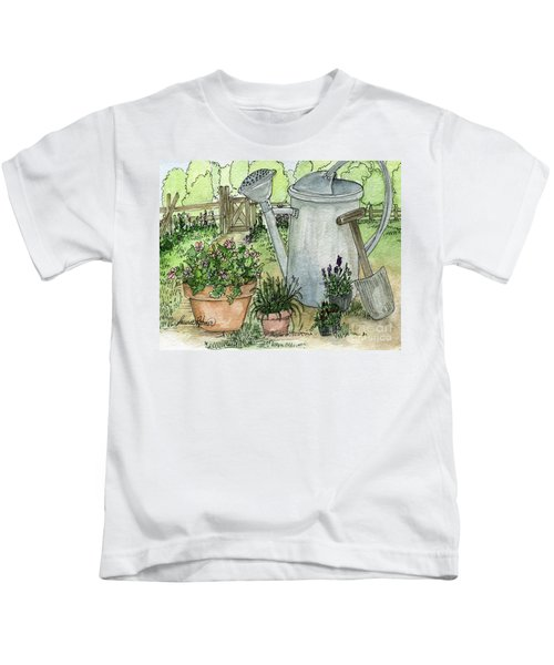 Garden Tools Kids T-Shirt