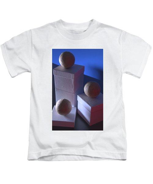 Geometric Triad Kids T-Shirt