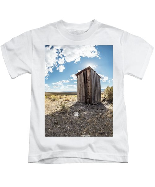 Ghost Town Outhouse Kids T-Shirt
