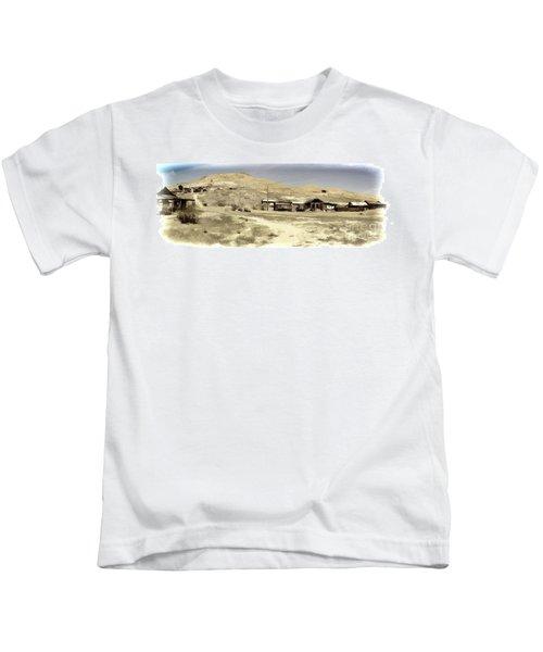 Ghost Town Textured Kids T-Shirt