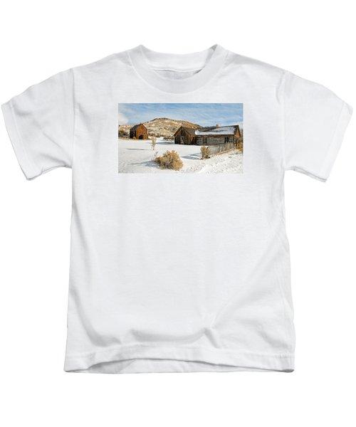 Ghost Town Winter Kids T-Shirt
